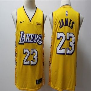 Los Angeles Lakers #23 LeBron James Jersey